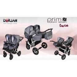 Vezimelis dvynukams Twin Prim 2018